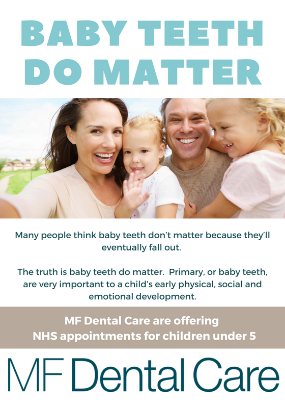 Baby Teeth Do Matter Dentist Littleborough